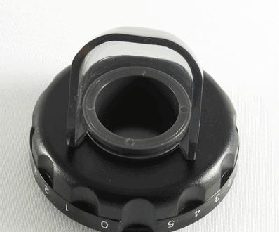 Oscar Juicer DA1000 Adjust Ring Eject Cover Black