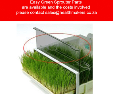 Easy green sprouter parts