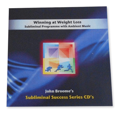 Winning at weight loss subliminal success series CD