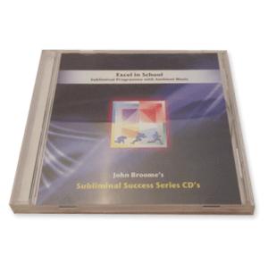 excel in school subliminal success series cd
