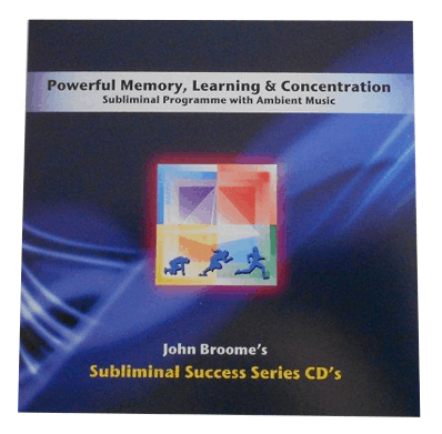 powerful memory, learning & concentration subliminal success series cd