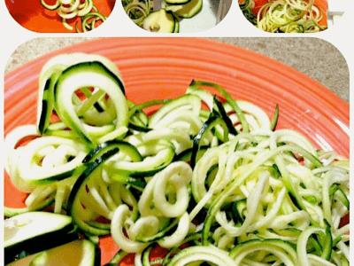 spiral cucumbers | spiralizer | spyra-gyra