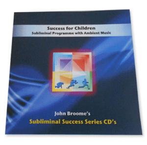 success for children - subliminal success series CD