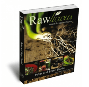 Rawlicious By Peter and Beryn Daniels recipe book