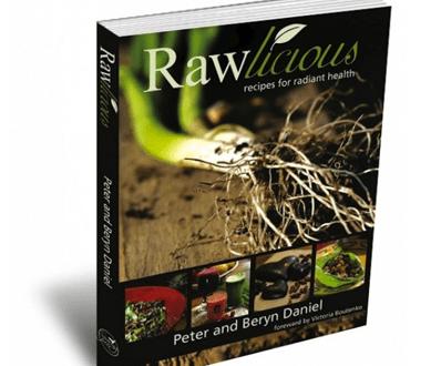 Rawlicious By Peter and Beryn Daniels recipe book