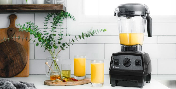 vitamix explorian e320 blender orange juice