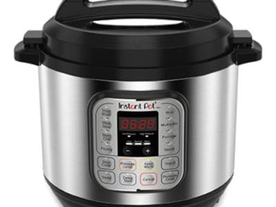 External view of Instant Pot with control panel